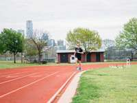 Track workout at Austin High School.