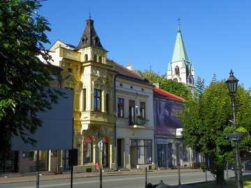 Miasteczko - Ładne miasteczko w Małopolsce