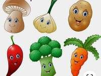 Ízletes zöldségek