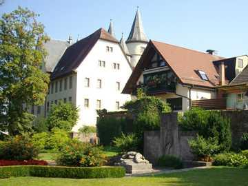 Lohr am Main old town edge - Lohr am Main old town edge