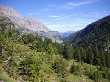 Klausenalp en el cantón de Glarus - Klausenalp en el cantón de Glarus