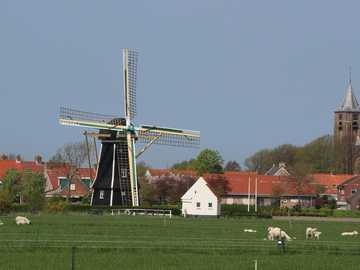 Village on Zeeland Holland - Village on Zeeland Holland