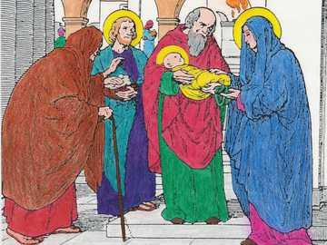 Pour les enfants: représentation de Jésus au temple - Pour les enfants: représentation de Jésus au temple