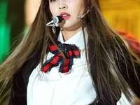 Jennie Kim - up 90 cm down 90 cm right 90 cm left 90 cm