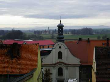 Panorama - West of Chorzów - a trip