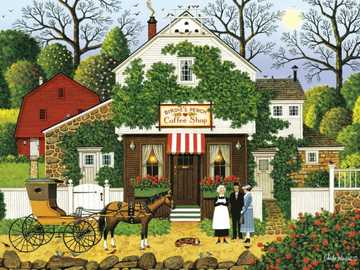 Jigsaw puzzle. - A puzzle for children ....