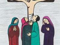 Dla dzieci: Jezus umiera na krzyżu
