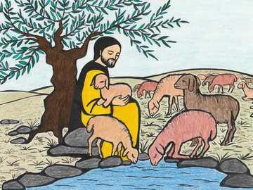 Pour les enfants: Jésus est comme un berger - Pour les enfants: Jésus est comme un berger