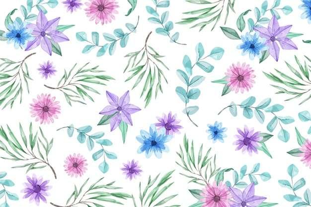 Pintura de Flores - Lindo, muito bonito, ta com barba né (11×7)