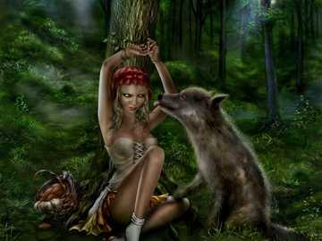 dziewczyna i wilk - Mów o nim dobrze, zanim staniesz nad jego grobem. Podaruj jej kwiaty, zanim umrze.