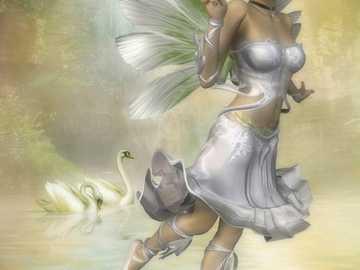 """motyl i łabedzie - """"Jak można kochać Boga, który jest niewidzialny, nie kochając człowieka, który jest obok"""