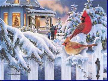 """BIRDS ON A TREE IN ZIME ... - """"The hour clock beats, then we say: How quickly this time passes! And we pass by."""""""