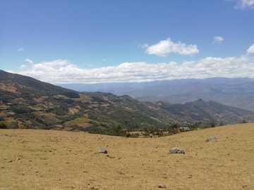 Sierra Piurana, Peru - Landschaft in Ayabaca, Sierra de Piura