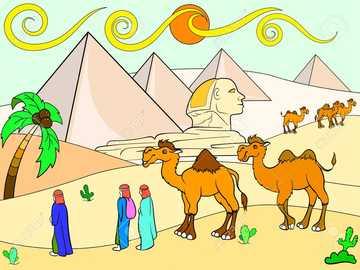 Ägypten Puzzle - NIVO Workshop Rätsel
