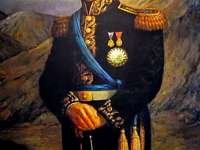 San Martin - General San Martín. Liberator of Argentina, Chile and Peru. Liberator of three countries.