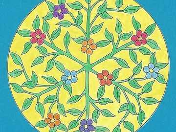 Jardin de fleurs de Mandala 2 - Jardin de fleurs de Mandala 2
