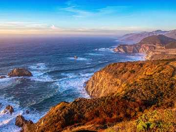 body of water photograph - I see so many images of the Bixby Creek Bridge on Hwy 1 in California, and they always make me jealo