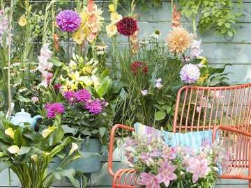 Summer bouquets. - Puzzle: summer bouquets.