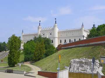 In Lublin - A beautiful castle in Lublin