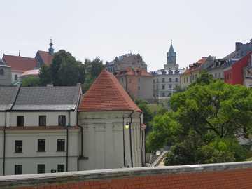 Lublin panorama - Lublin's panorama in summer.