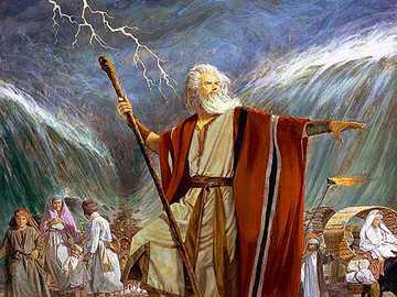 Mojżesz, zbawiciel ludu Bożego - Wielki prorok i wybawiciel Izraela, Lud Boży.