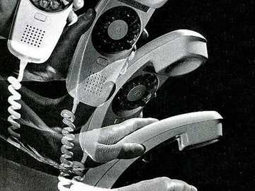 The Trimmline Phone - This Is A Photo Of A Telephone From 1965