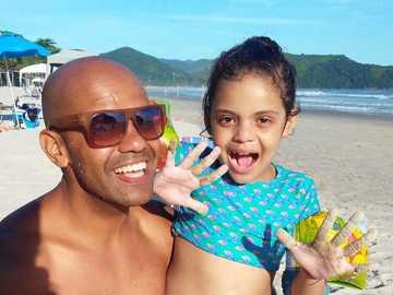 Julia São Francisco de Assis - Vatertagsfoto