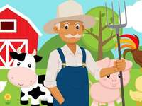 grandfather's farm - solve the puzzle carefully