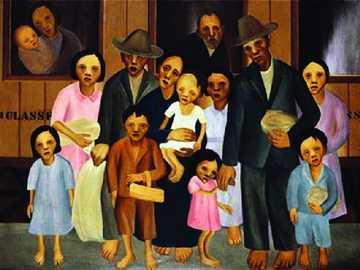 Segunda Classe tarsila do Amaral - É uma pintura da famosa modernista brasileira Tarsila do Amaral. Pertence a terceira fase de sua ob