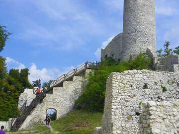 Vue - Au château de Smoleń, .....