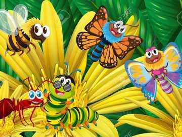 Insecte Fluturasi - Sunt reprezentati fluturasi