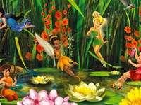 Mist, Tinker Bell, Jelonka, Sparkle e Różyczka