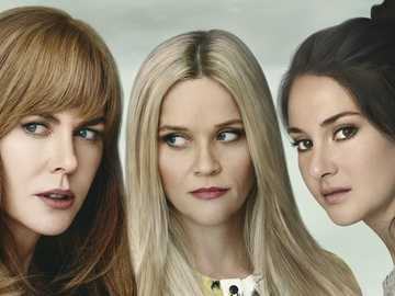 Big Little Lies - Nicole Kidman (Celeste Wright), Reese Witherspoon (Madeline Martha Mackenzie), Shailene Woodley (Jan