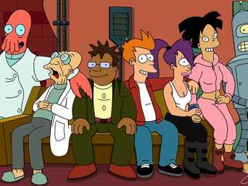 "Futurama - ""Futurama"" is a science fiction cartoon series by Matt Groening and David X."