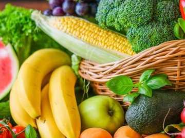 Früchte und Gemüse - als Familie lösen und Spaß haben