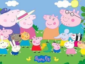 Peppa Pig и приятели - Пепа с всичките си приятели и семейство