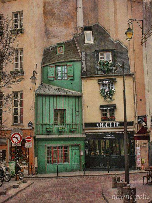 Jolies maison de Paris - Rue Galande - Paris 5e, France