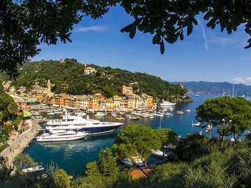 Portofino. - Landscape puzzle.