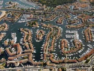 Port of Grimaud. - In the French port of Grimaud.