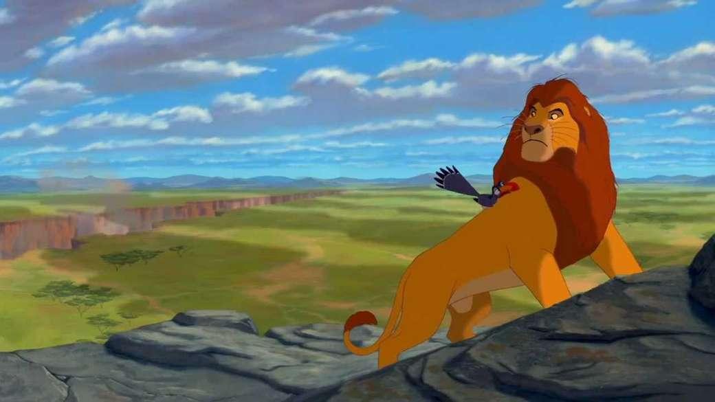 """Lejonkungen - """"Om det inte fanns någon oförskämdhet, skulle det inte finnas någon fascism. Djärvhet är bäraren av förakt, våld, menighet och viljan till förstörelse."""" (6×3)"""