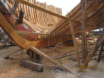 Schiffsbau - Schiffsbau in Marokko