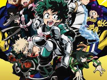 my hero  academy - es un pusle para los amantes del anime ojo esto esta echo para entretenimiento