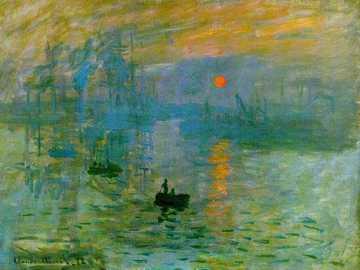 Impresionismo - Pregunta tres, evaluación de artes, segundo trimestre