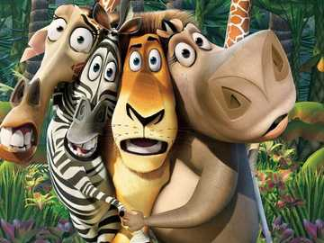 "Madagascar 2 - ""A fish taken out of the water is the only fish that can guess the existence of the water."""