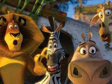 "Madagascar 2 - ""We call a well-organized criminal group the mafia, the best organized mafia we call the state."