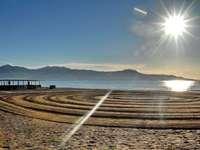 Sole d'argento sul mare