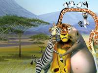 "Madagascar 2 - ""I wish everyone, after meeting you, would like to sing with happiness."""