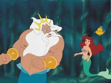 "Little Mermaid - ""Though joy is short, it is preceded by a long hope, and after it is left with an even longer m"