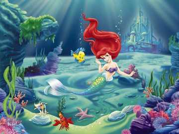 "The Little Mermaid, Ariel Disney - ..... - ""Make demands of yourself, even though others may not require you."""