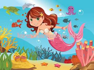 "Little Mermaid - ""Upbringing. If you have given someone life, give them instructions for use as well."""